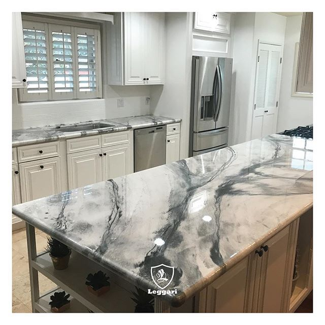 Very Excited To Share Photos Of My New Kitchen Counters It Was