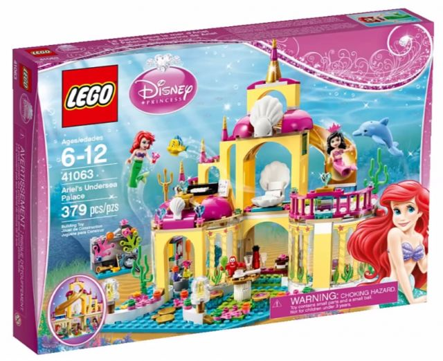 LEGO Disney Princess Ariel's Undersea Palace 41063 Set Box 2015