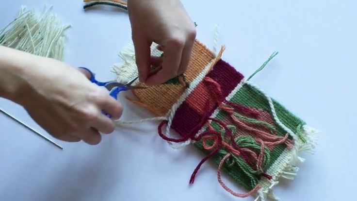 Learn the basics of finishing a tapestry weaving. Brought to you by Mirrix Tapestry & Bead Looms.