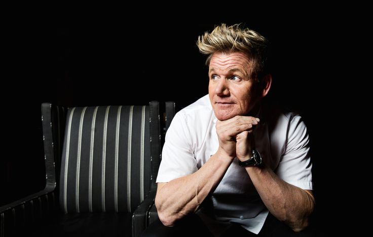 Chef Gordon Ramsay answers our rapid-fire Q&A—here's what he had to say about vodka, midnight snacks, the perfect steak, and more.