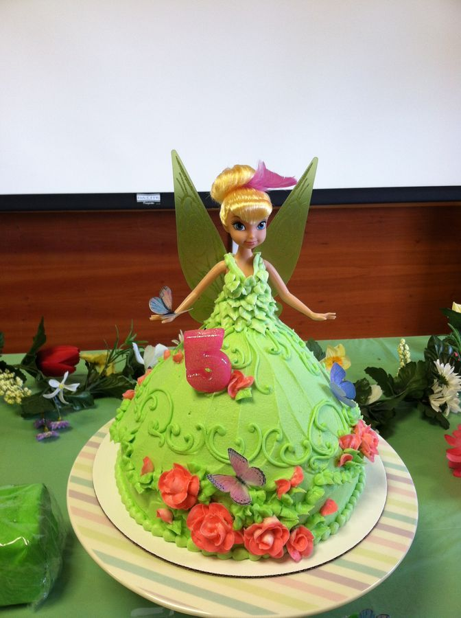 Tinkerbell Doll Cake Design : 97 best Wonder Mold Cake Pan Recipes images on Pinterest ...