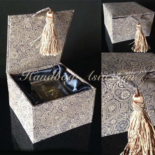 50 best Handmade cotton jewelry boxes cotton gift boxes and brocade