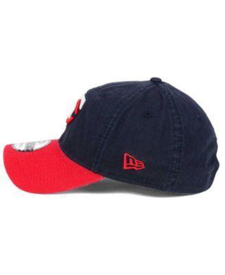 New Era Minnesota Twins Relaxed 2Tone 9TWENTY Strapback Cap - Navy/Red Adjustable