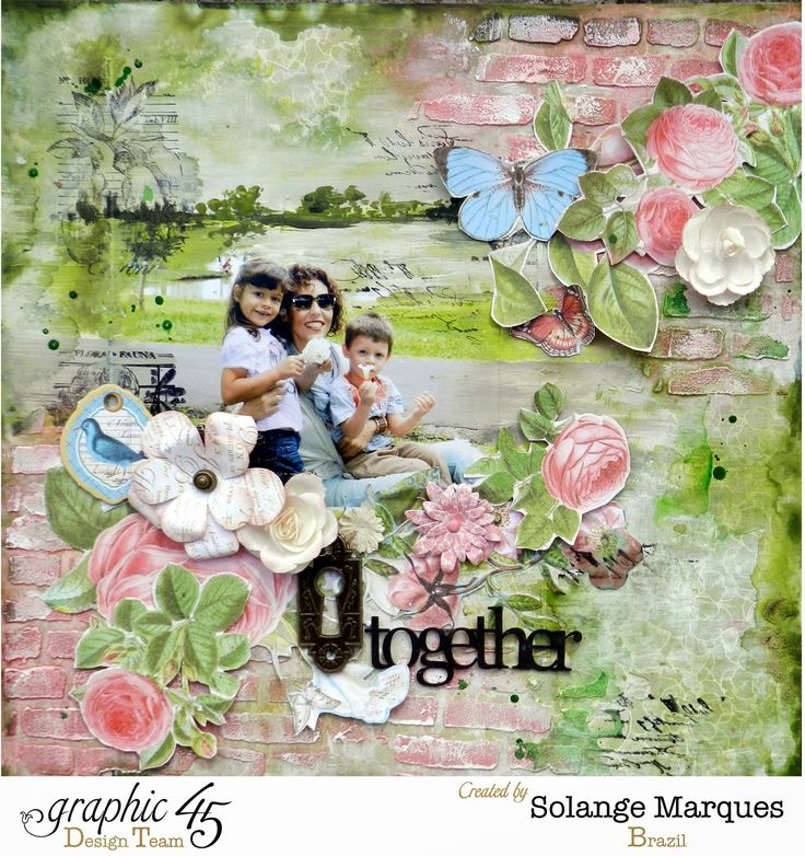 22 best scrapbooking images on pinterest baby coming cards and graphic 45 layout by solange marques pronofoot35fo Image collections