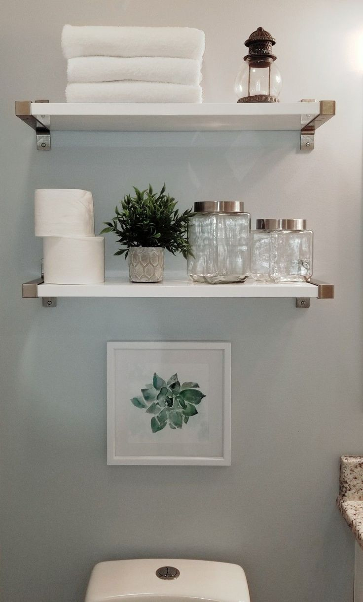 Best Absolutely Free Half Bathroom Shelves Ideas Storage Space In