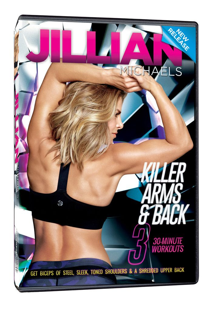 Jillian Michaels 'Killer Arms & Back' DVD