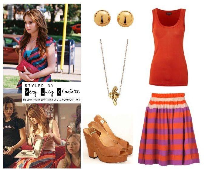 Cady Heron | Character clothes study | Pinterest