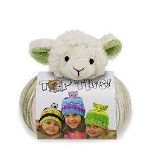 DMC Top This Yarn Lamb Hat