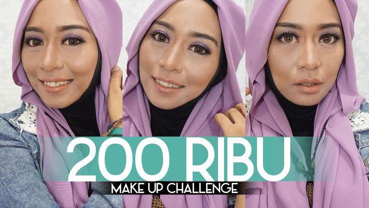 200K Makeup Challenge Indonesia Untuk Kulit Gelap / Sawo Matang
