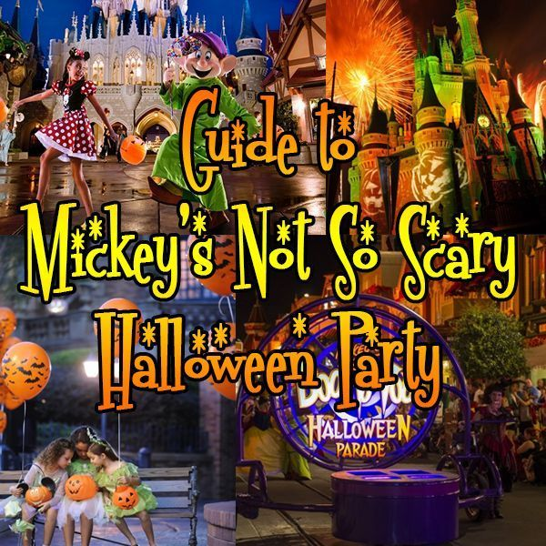 Guide to Mickey's Not So Scary Halloween Party - prices, dates, events and a loose touring plan