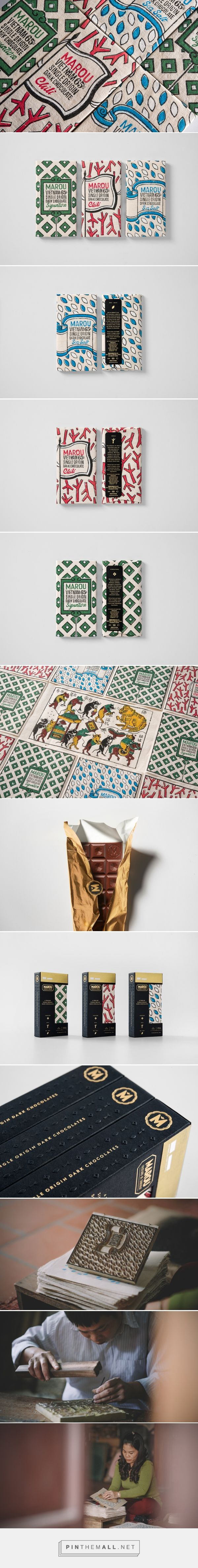 Rice Creative - Marou Chocolate for National Gallery Singapore packaging design blog World Packaging Design Society│Home of Packaging Design│Branding│Brand Design│CPG Design│FMCG Design - created via https://pinthemall.net