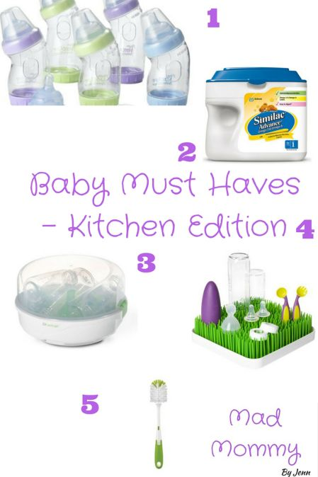 Baby Must Haves - Kitchen Edition