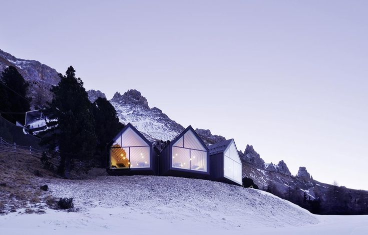 Weitblick findet Vollendung in alpinem Restaurantbau