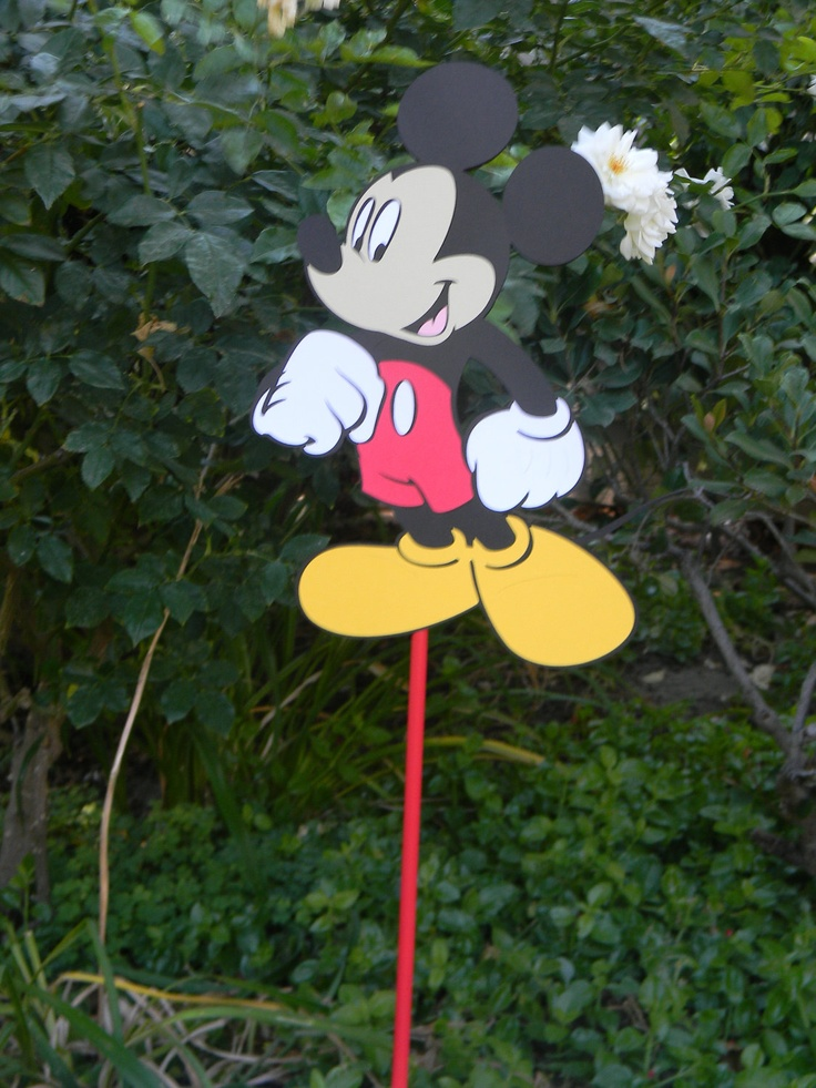 Mickey Mouse Yard Sign--