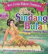 Seri Cerita Rakyat Nusantara Putri Sindang Bulan Bilingual Full Collor.Shendiane
