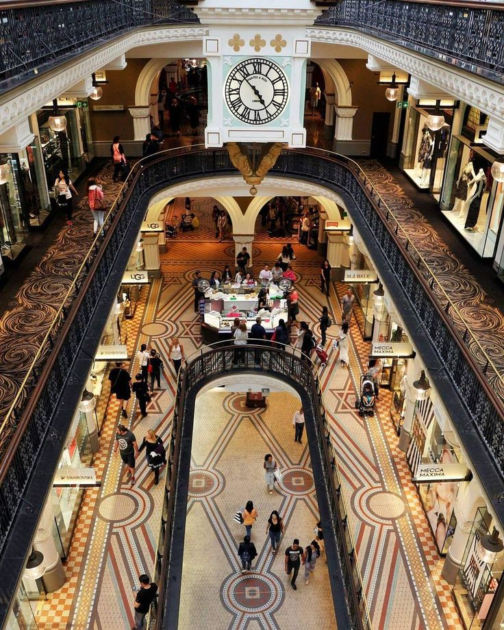 The gorgeous QVB at Town Hall, Sydney