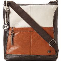 The Sak Iris Crossbody, genuine leather. Top zip closure. Single ...