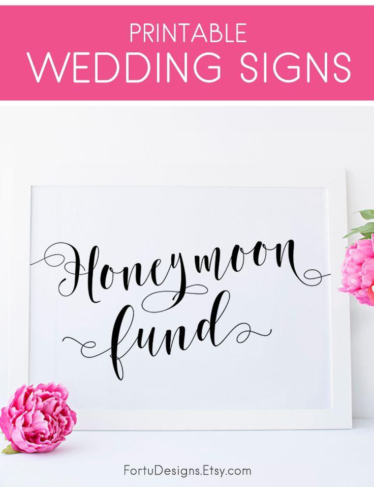 57 best fortudesigns wedding signs images on pinterest barn honeymoon fund sign wedding ideas on a budget elegant wedding decorations simple wedding junglespirit Choice Image