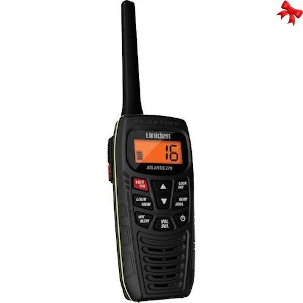 Uniden Atlantis 270 VHF Black Handheld #FMGiftGuides16