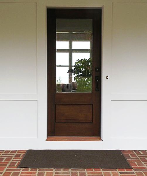17 best images about exterior doors on pinterest cape for Exterior glass wall panels