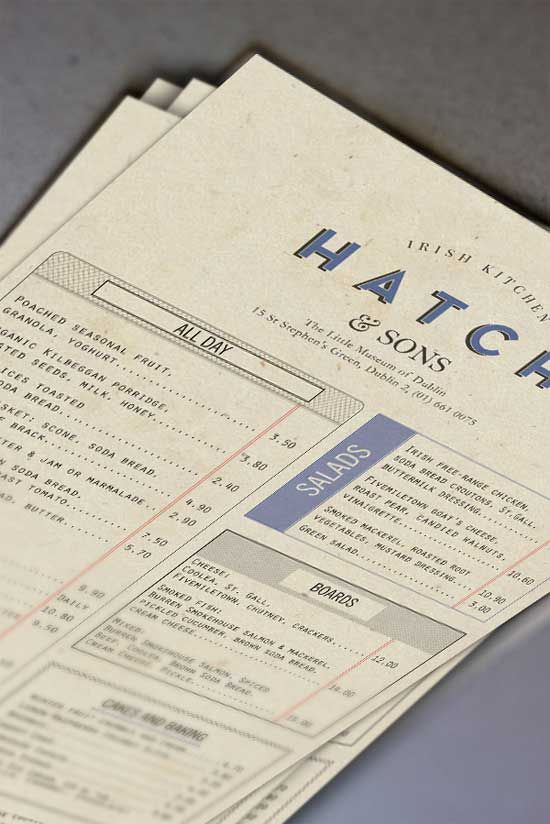 33 Creative Table Menu Designs for Restaurants | Best Design Options