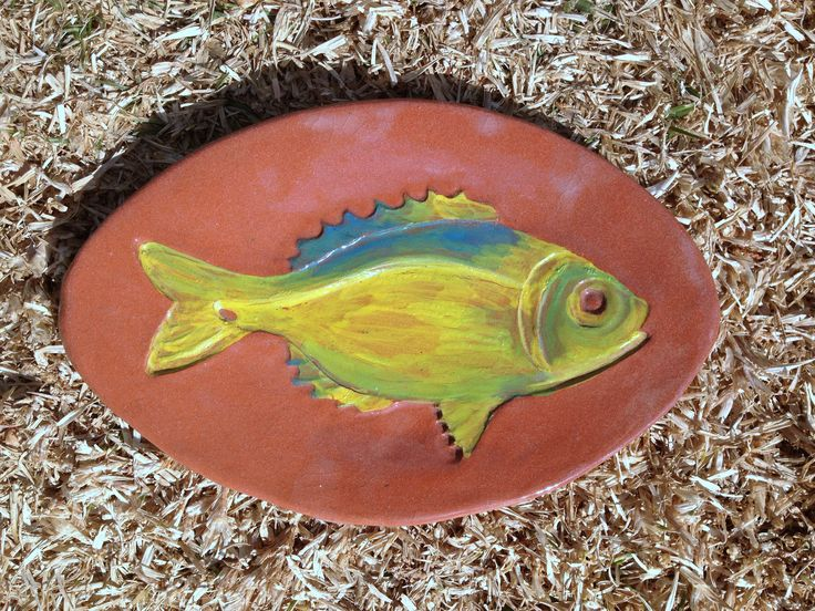 Fish plate by Lalage Hunter