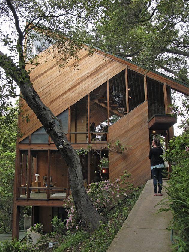 Asymmetrical House - John Lautner