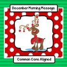 This monthly activity is part of a package -  Morning Message for the Whole School Year Save by purchasing the bundle!  Using the interactive smartboard, an ELMO projector, or an overhead projector, students can edit the letters written to the group by Rudolph, the classroom friend.