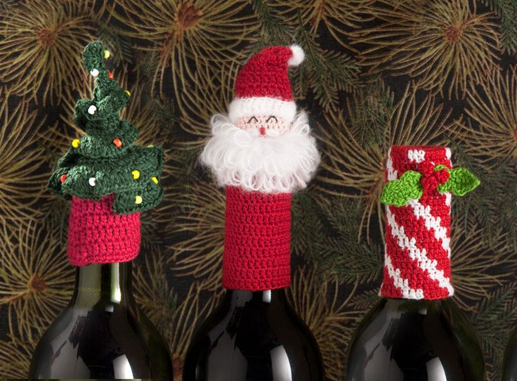 Holiday Series Wine Tops - so cute