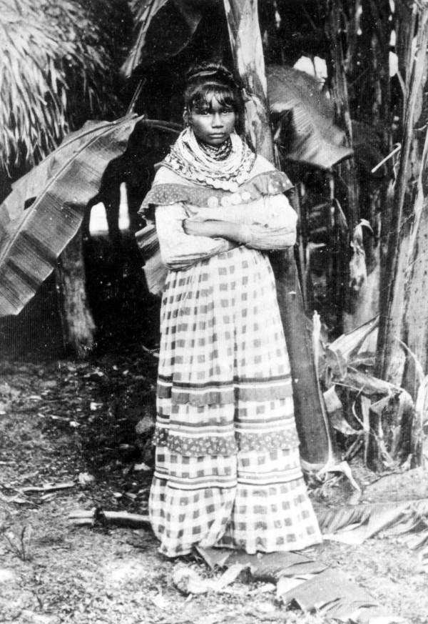 Seminole girl - Immokalee Region, Florida. 1895