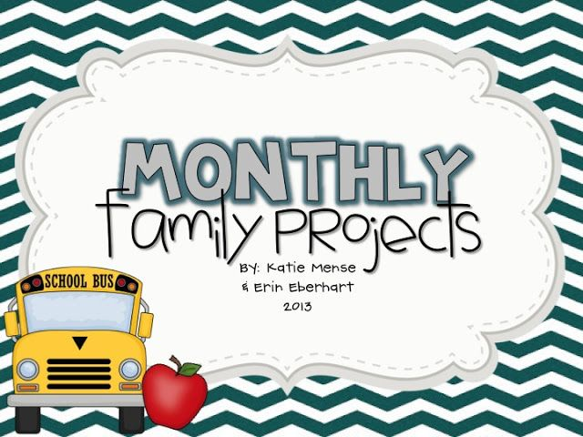 Eberhart's Explorers: Monthly Family Projects – School Ideas
