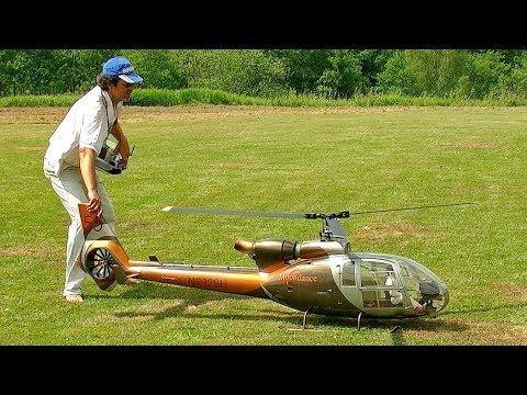 GAZELLE SA-341/342 HUGE RC VARIO SCAE MODEL ELECTRIC HELICOPTER
