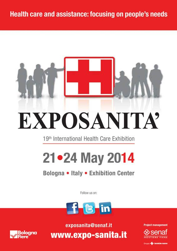 Visit our VITILITY stand on the Exposanita fair in Bologna - Italy. Date: 21 till 24-05. Hall: 19, Stand: D57. For more information see: http://www.senaf.it/Expo-Sanita/107/en