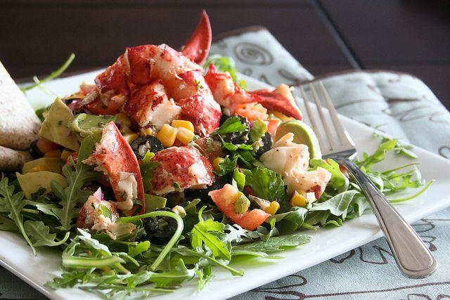 Lobster Salad-3 by Sonia! The Healthy Foodie, via Flickr