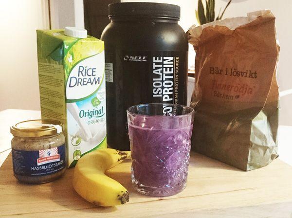 Proteindrink för veganer. En supersmarrig drink för dig som är vegan och vill bygga muskler.