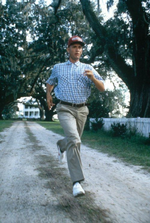 If Forest Gump can run for over 3 years, you can get up for a 30 minute workout this morning.