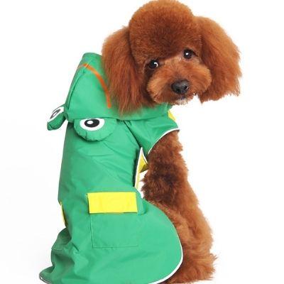 Froggie Dog Raincoat - $36.00