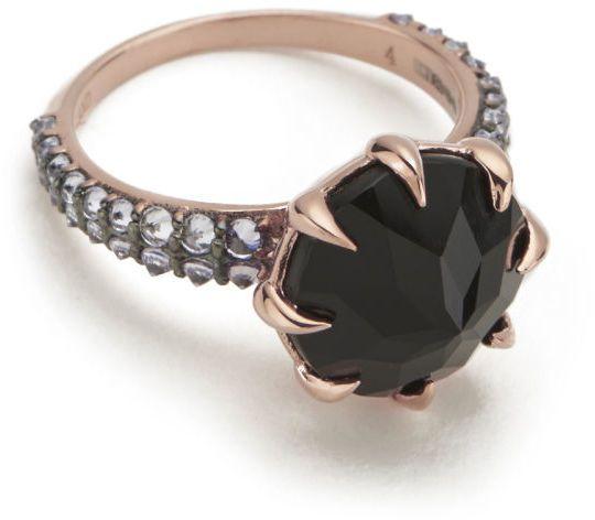 Katie Rowland Women's Vengeance Ring 18 Carat Rose Gold #ring #jewellery