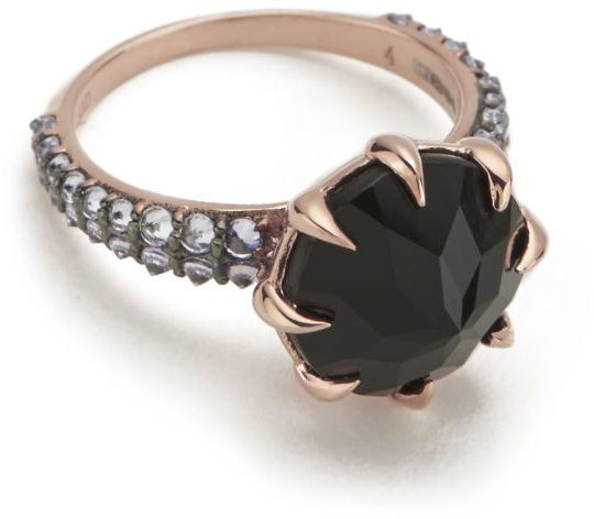Katie Rowland Women's Vengeance Ring 18 Carat Rose Gold #ring #jewellery