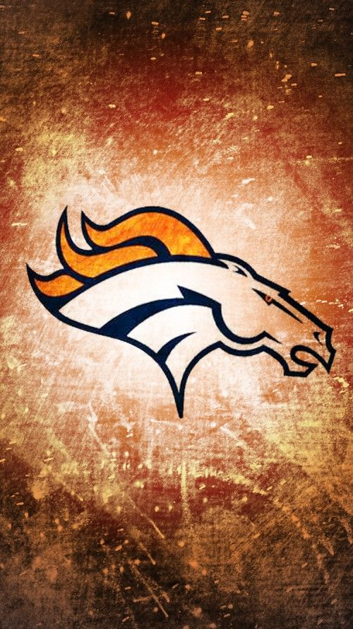 Attachment for Denver Broncos football team animated logo for iPhone 6 wallpaper