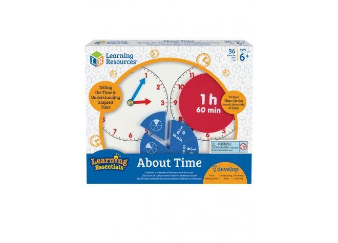 Zeit-Workshop, Lernspiel, 6-9 Jahre von Learning Resources bei Spielundlern online bestellen