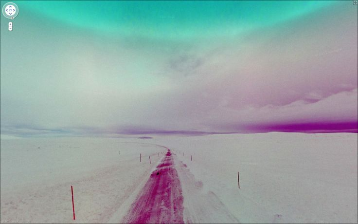 Jon Rafman's 9 eyes project: finding beautiful or intriguing moments from Google street view