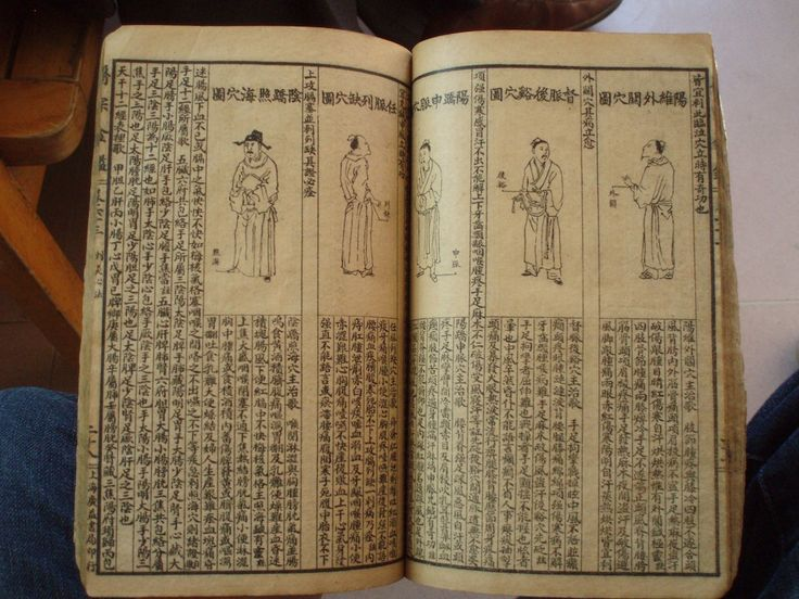 Handwritten Chinese medical book. Over 150 years old ...