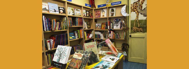 llibreria infantil i juvenil a Barcelona.