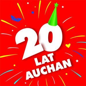 Pod koniec kwietnia kolejna z sieci handlowych rozpoczęła huczne świętowanie swojej obecności w Polsce. Pierwszy sklep Auchan w Polsce został otwarty 20 lat temu, a dokładnie 14 maja 1996 roku, w Piasecznie pod Warszawą. Obecnie sieć zarządza w Polsce 76 hipermarketami i zainwestowała w naszym kraju 7,4 mld zł.