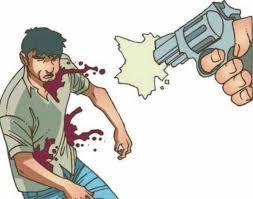 Resultado de imagen para dibujo de hombre matado por policías
