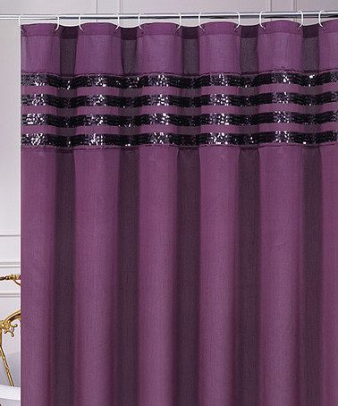 Purple Sequin Moline Shower Curtain Purple Textiles And Ps