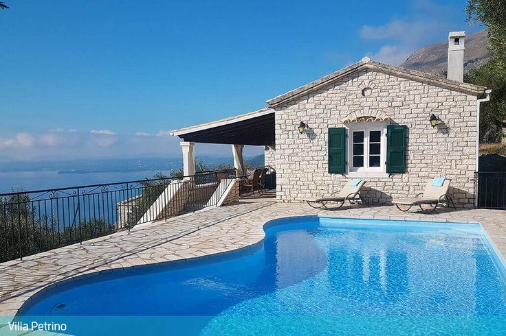 Description: Vrijstaande villa's met privé zwembad en schitterend uitzicht  Villa?s met privé zwembad en verbluffend zicht op zee Wat een juweeltjes deze twee vrijstaande villa?s met privé zwembad genaamd Petrino en Ioanna en gelegen in het plaatsje Apolissies. Een eldorado voor een rustige en onbekommerde vakantie op het mooie eiland Corfu. Aangekomen bij Villa Petrino of Villa Ioanna zal je direct het adembenemende uitzicht over de helderblauwe zee en de groene heuvels opvallen. Op elk…
