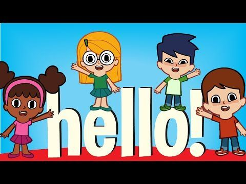 Hello! | Super Simple Songs - YouTube-- good for having individual kids sing an answer (their own)