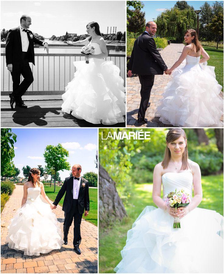 Belia esküvői ruha - Pronovias 2015 - Beatrix menyasszonyunk  http://mobile.lamariee.hu/eskuvoi-ruha/pronovias-2015/belia